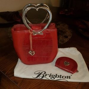 VINTAGE BRIGHTON BAG w COIN PURSE